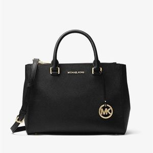 Michael Kors Kellen Saffiano Leather Satchel